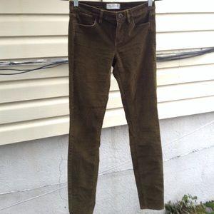 Madewell Corduroy Skinny Jeans